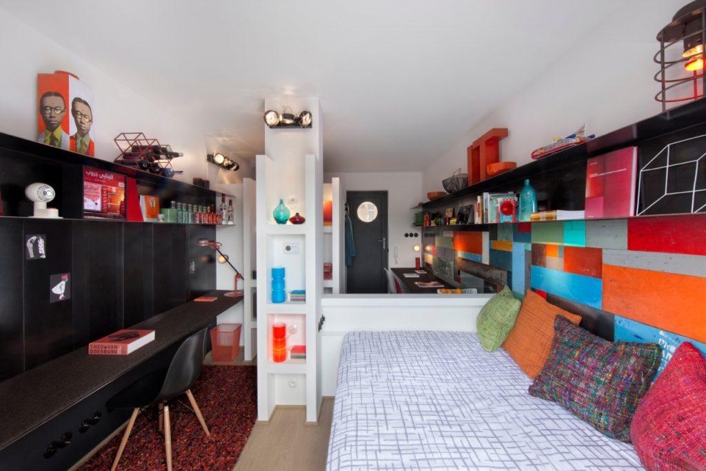 Mini-loft Vintage - Chambre