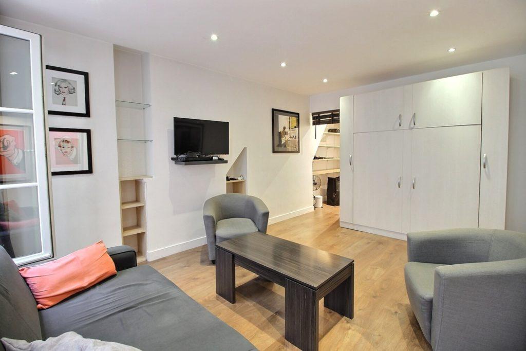 Le Charlot - Living area