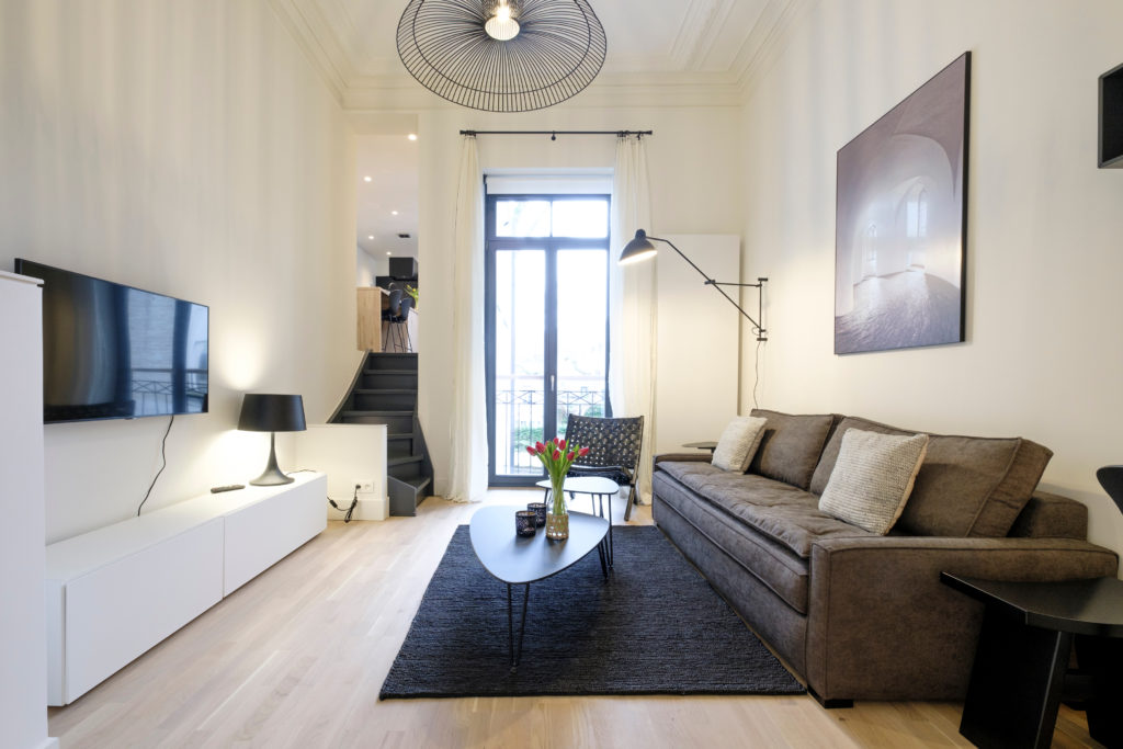 The Collectionist - Living area