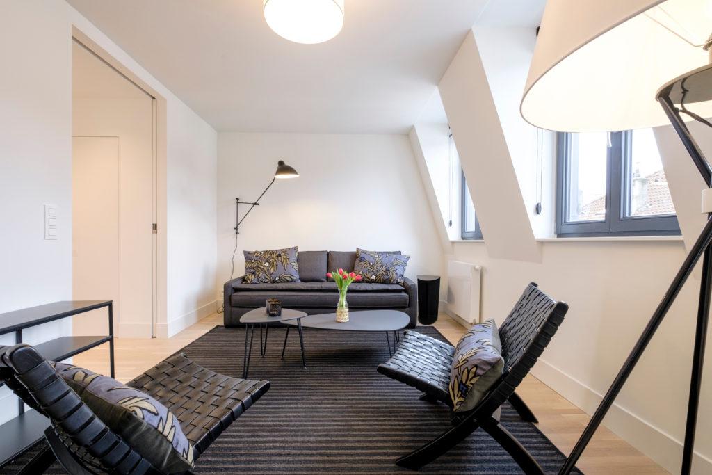 The Gallerist - Living area