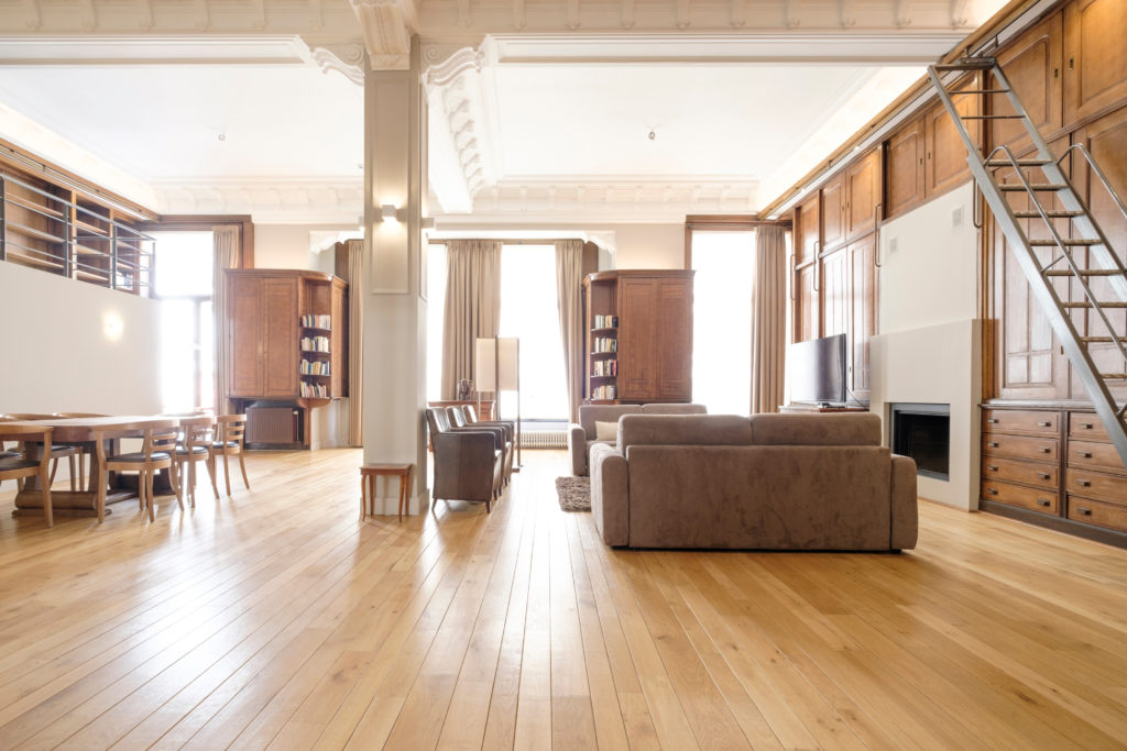 The Library - Living area
