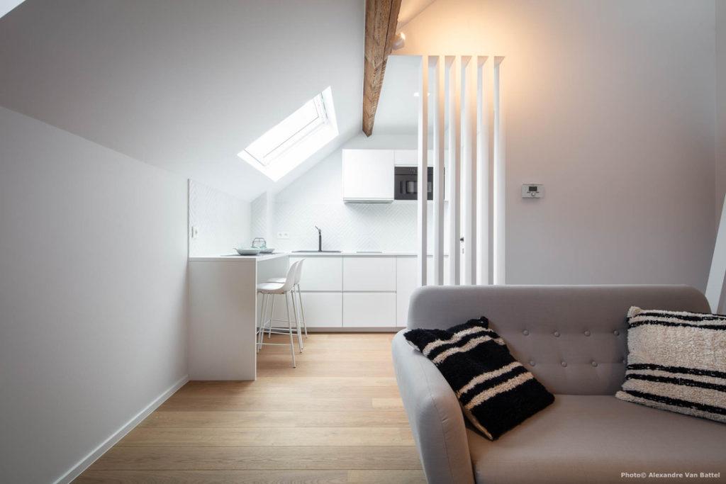 Brussels Gypset Studio 3 - Living area